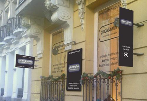 fachada Gloss&Raffles